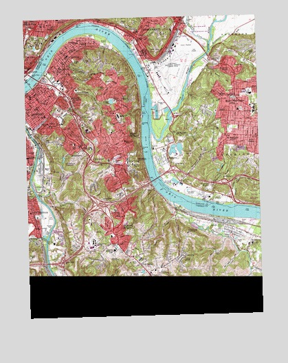 Newport Ky Topographic Map Topoquest