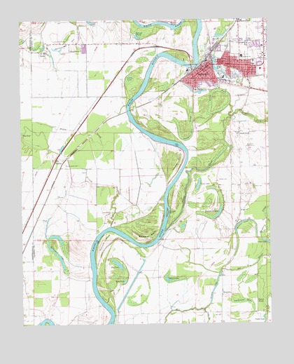 Newport Ar Topographic Map Topoquest