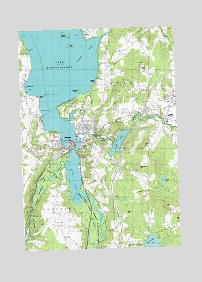 Newport, VT Topographic Map - TopoQuest