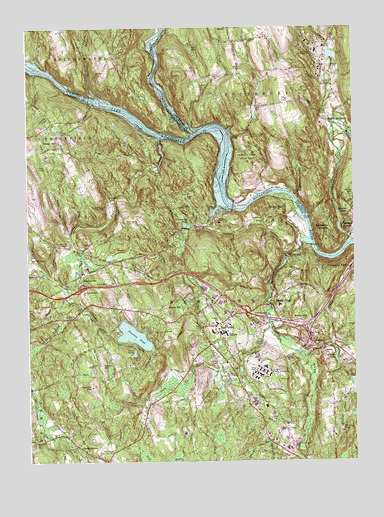 Newtown, CT Topographic Map   TopoQuest