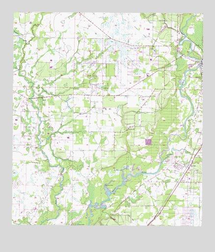 Nocatee Fl Topographic Map Topoquest