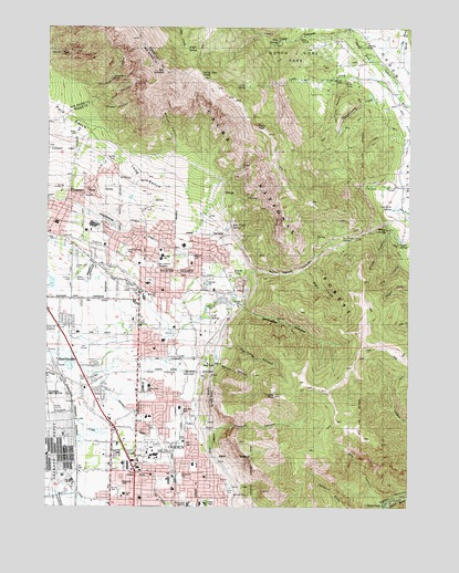 North Ogden UT Topographic Map TopoQuest - Topographic map of utah