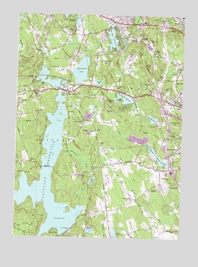 Topographic Map Rhode Island.North Scituate Ri Topographic Map Topoquest