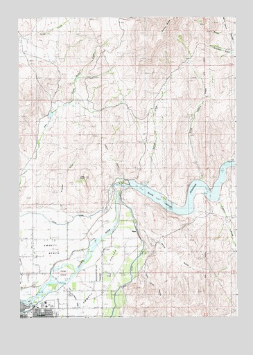 Northeast Emmett Id Topographic Map Topoquest