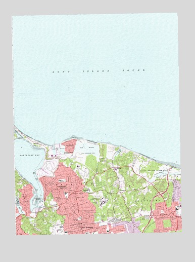 Northport, NY USGS Topographic Map