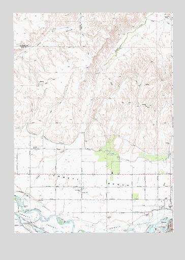 Idaho Northern Pacific Railways Map Reduced