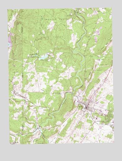Oakland, MD Topographic Map - TopoQuest