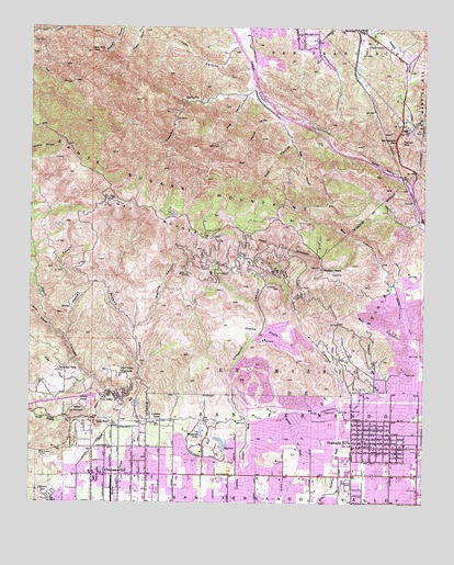 Oat Mountain, CA USGS Topographic Map