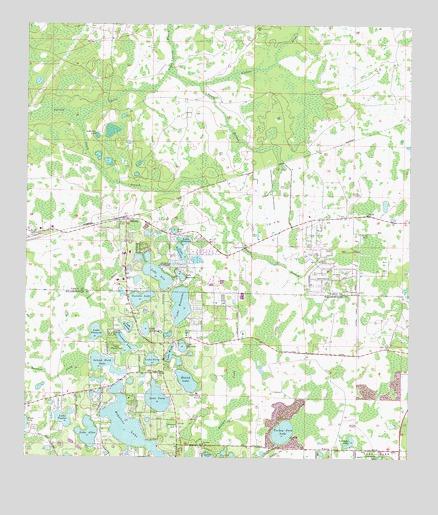 Odessa Fl Topographic Map Topoquest