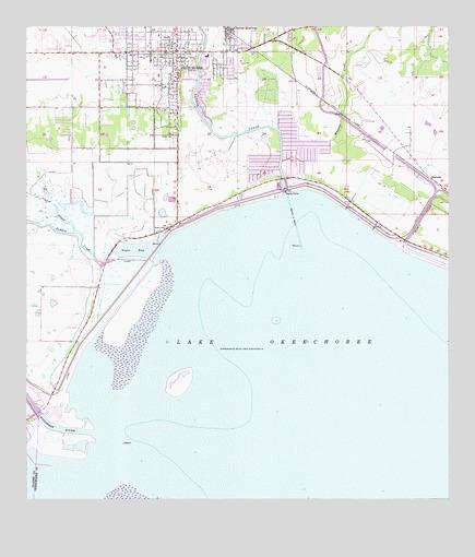 Okeechobee Fl Topographic Map Topoquest