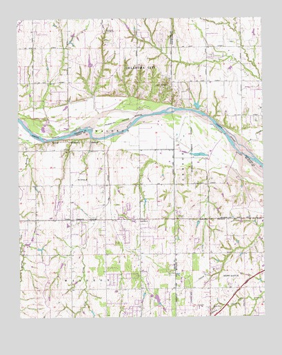 Oklahoma City SW, OK Topographic Map - TopoQuest