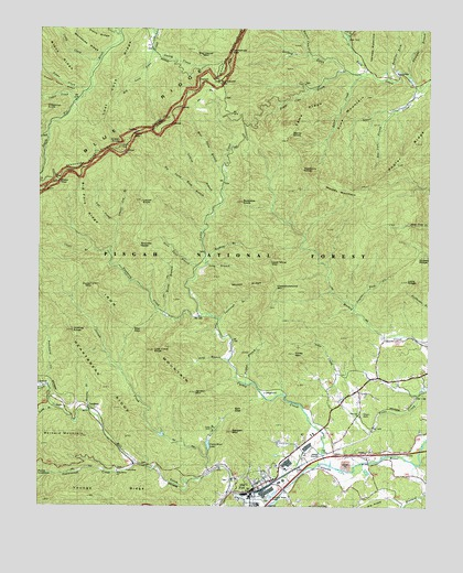 Old Fort Nc Map.Old Fort Nc Topographic Map Topoquest