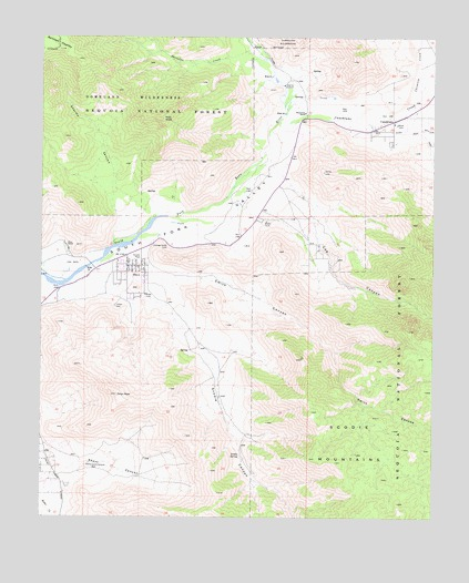 Onyx, CA USGS Topographic Map