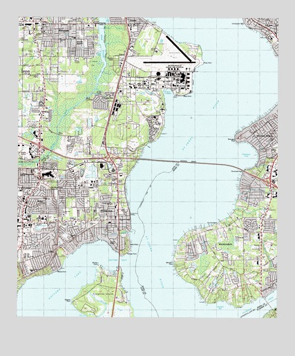 Orange Park FL Topographic Map TopoQuest - Florida topographic map free