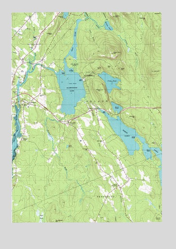 Orland Maine Map.Orland Me Topographic Map Topoquest