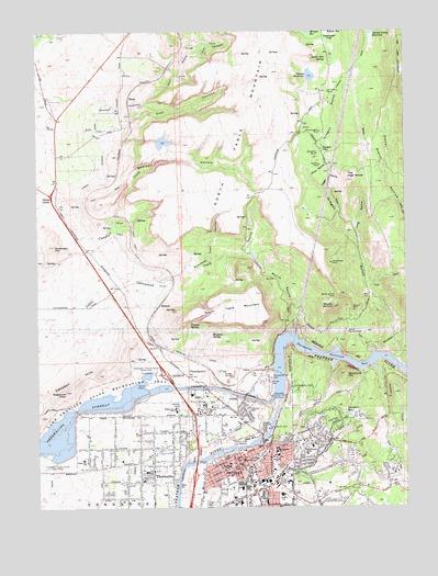 Oroville California Map >> Oroville Ca Topographic Map Topoquest