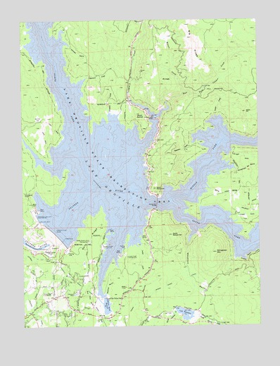 Map Of California Oroville Dam.Oroville Dam Ca Topographic Map Topoquest
