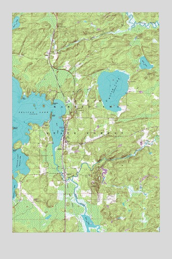 Orr, MN USGS Topographic Map