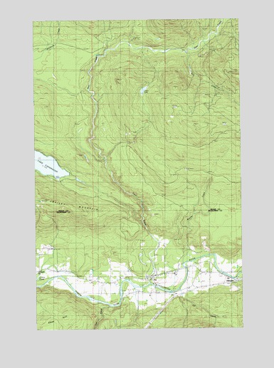 Oso, WA USGS Topographic Map
