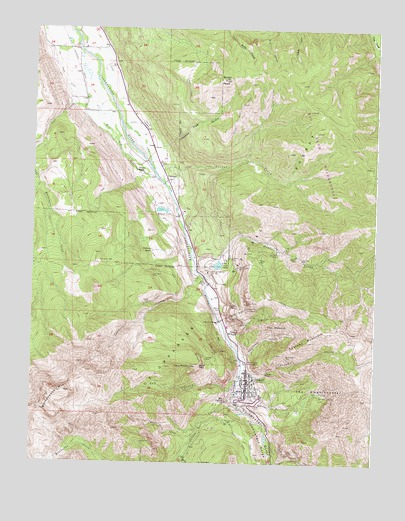 Ouray, CO Topographic Map - TopoQuest