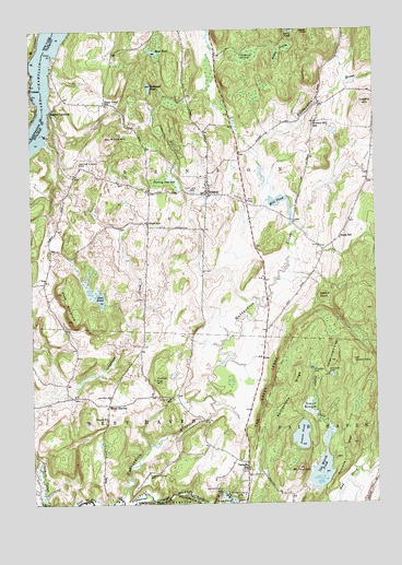 Benson, VT Topographic Map - TopoQuest