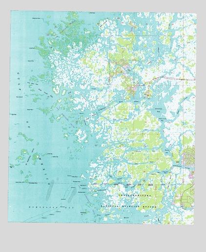 Ozello, FL Topographic Map - TopoQuest
