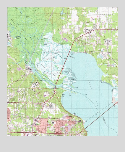 Pace FL Topographic Map TopoQuest - Florida topographic map