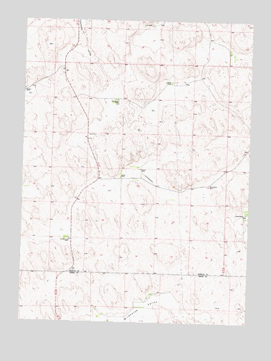 Packard Ranch, NE USGS Topographic Map