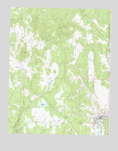 Pagosa Springs, CO Topographic Map - TopoQuest