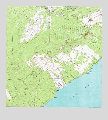 Pahoa South, HI Topographic Map - TopoQuest