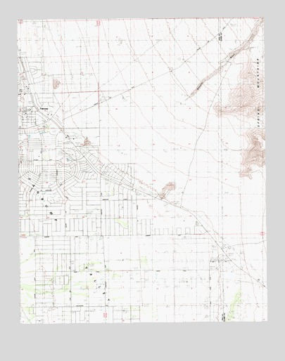 Pahrump, NV USGS Topographic Map