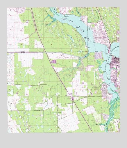 Palm City Fl Topographic Map Topoquest