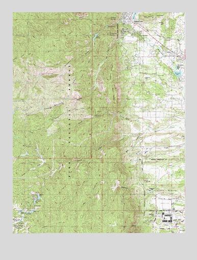 Palmer Lake Co Topographic Map Topoquest