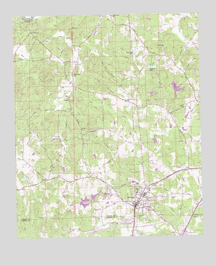 Palmetto GA USGS Topographic Map