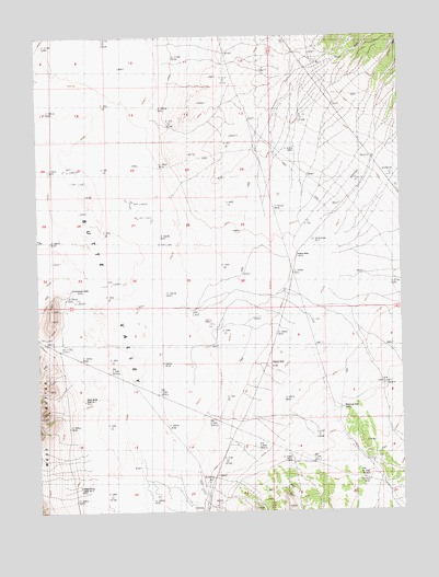 Palomino Well, NV USGS Topographic Map