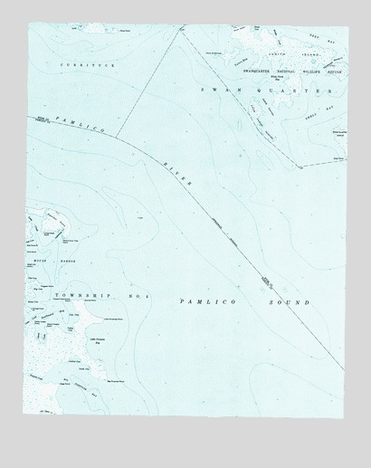 Pamlico Point, NC USGS Topographic Map