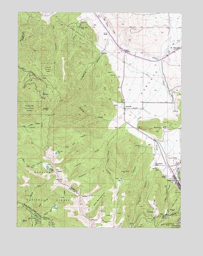 Park City West, UT Topographic Map - TopoQuest
