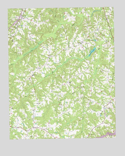 Park Spring, NC USGS Topographic Map