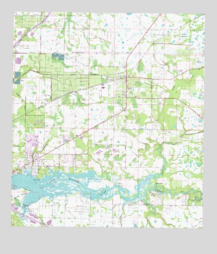 Parrish Fl Topographic Map Topoquest