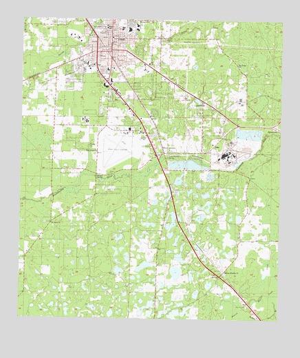 Perry Fl Topographic Map Topoquest