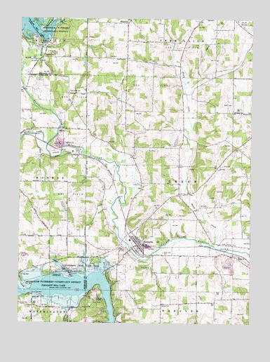 Perrysville Ohio Map.Perrysville Oh Topographic Map Topoquest