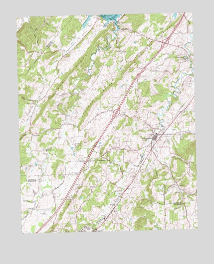 Philadelphia TN Topographic Map  TopoQuest