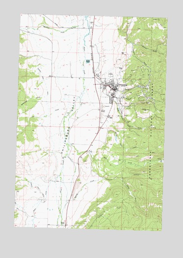 Philipsburg MT Topographic Map  TopoQuest