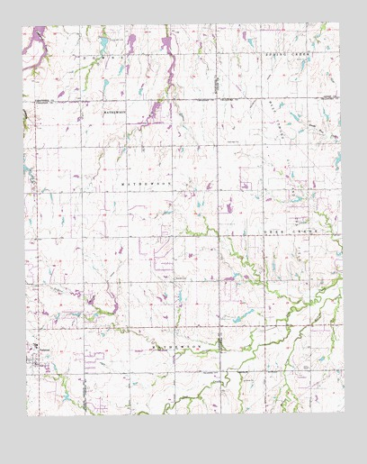 Piedmont Ok Topographic Map Topoquest