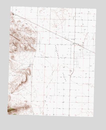 Beryl Utah Map.Beryl Junction Ut Topographic Map Topoquest