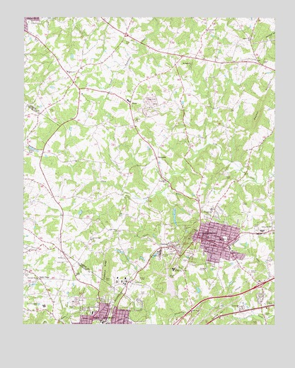 Bessemer City Nc Topographic Map Topoquest