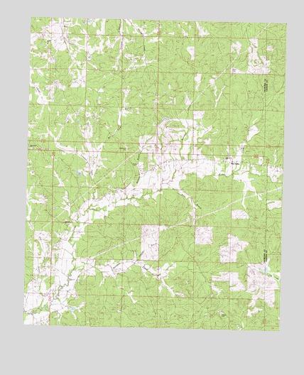 Pine Valley, MS Topographic Map - TopoQuest
