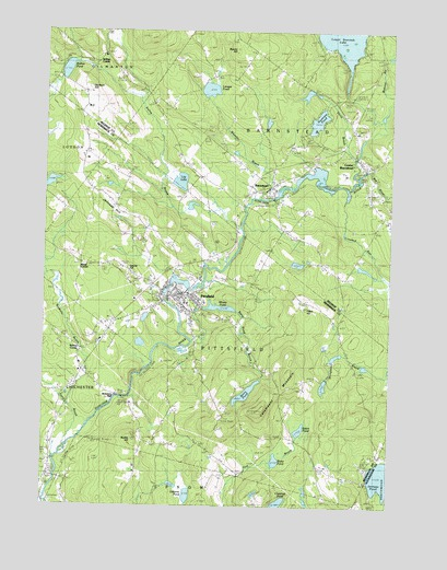 Pittsfield, NH USGS Topographic Map