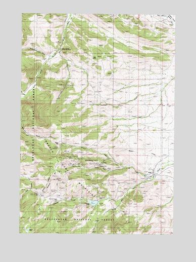 Pony Montana Map.Pony Mt Topographic Map Topoquest
