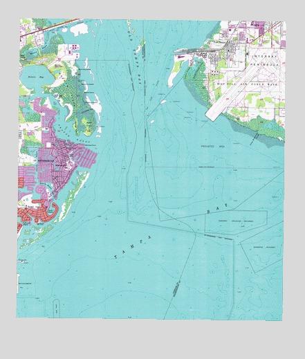 Tampa Topographic Map.Port Tampa Fl Topographic Map Topoquest